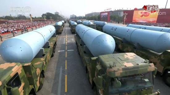 巨浪-2潜射导弹。