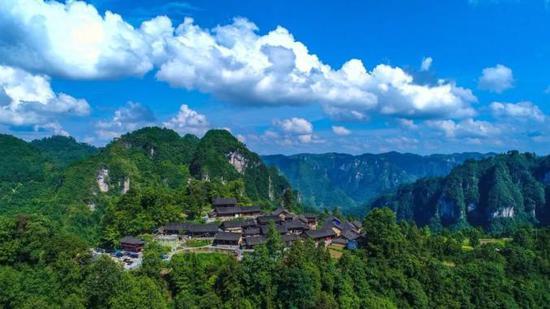 十八洞村。图源:爱上湖南