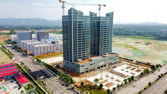 ▲长沙(金霞)消费电子产业集聚区1.1期已经完工,即将交付使用。