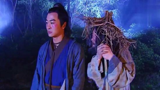 ▲ 电视剧 《连城诀》中的狄云(左)
