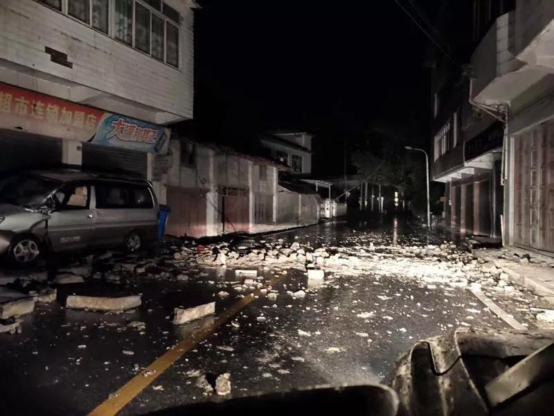 四川长宁地震救援正在进行 已造成11人死亡 122人受伤