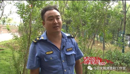 """刘飞说:我是个退伍军人,也是一名城市管理者,怎么能见死不救呢。本文图片均为""""今日女报谭里和工作室"""" 图"""