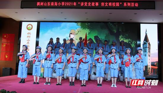 王二小的故事激励着同学们肩负起新时代少年的责任。