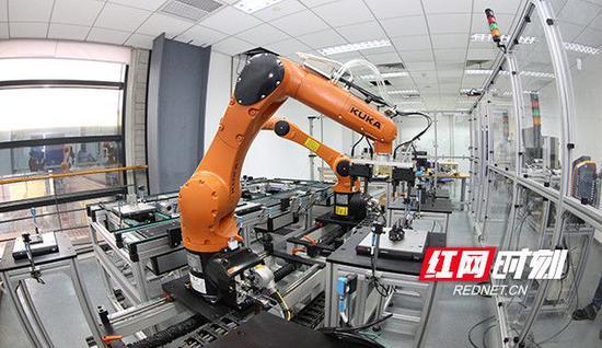 博世汽车部件(长沙)有限公司生产车间。