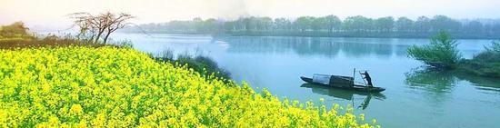 郴州安仁县渡口乡,新乡村风貌。图|刘强林