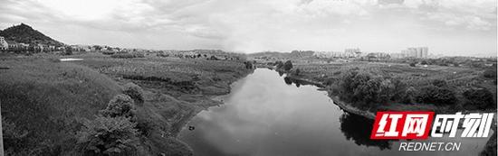 2006年,梅溪湖样貌。