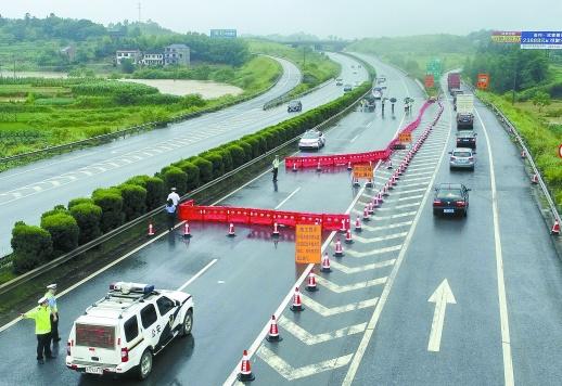 沪昆高速邵阳段东往西方向封闭施工 大修为期6个月