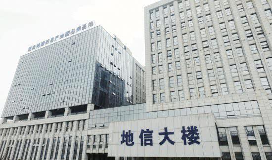 10 月 17 日,湖南地理信息产业园总部基地。组图 / 记者陈正