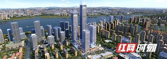 328米!长沙河西第一高楼来了!