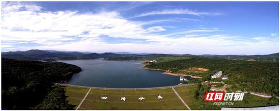 四清水库位于郴州市北湖区保和镇花园村。