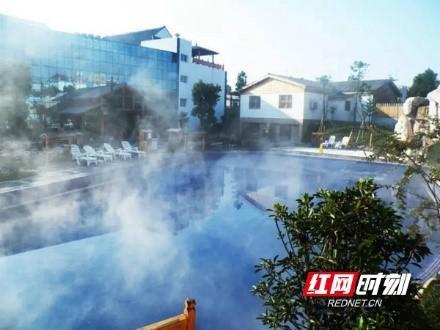 金太阳海浪池。宁乡市旅游局供图