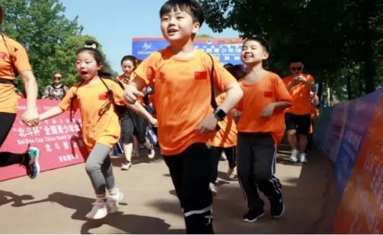 参赛选手特别是青少年学生们体验到运动快乐的同时,轻松地掌握了北斗知识