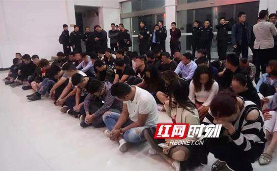 永州公安依法刑事拘留犯罪嫌疑人87人
