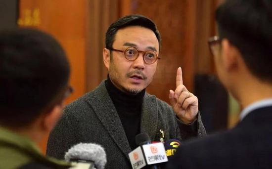 2019年汪涵参加湖南省政协会议。图源:东方IC