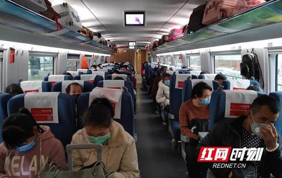 719名务工人员将乘坐专列直达浙江义乌,返岗复工。