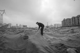 长沙开展蓝天保卫战整治 工地烧垃圾收10万最严罚单