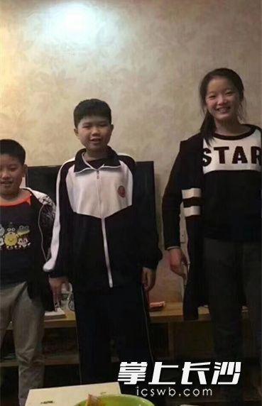失踪的三名学生照片。家长供图失踪的三名学生照片。家长供图