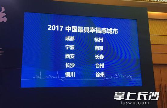 """长沙县入选""""2017中国最具幸福感城市县级市""""!"""