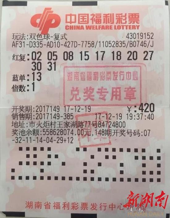 长沙17人合买彩票 喜获500万大奖(图)