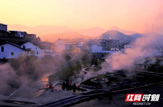郴州西站:汝城温泉。