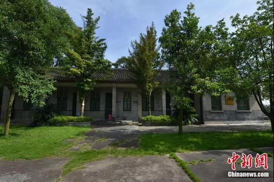 袁隆平在安江农校的旧居。杨锡建 摄