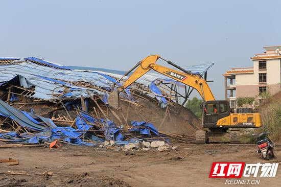石鼓区9个页岩砖厂限期内全部拆除