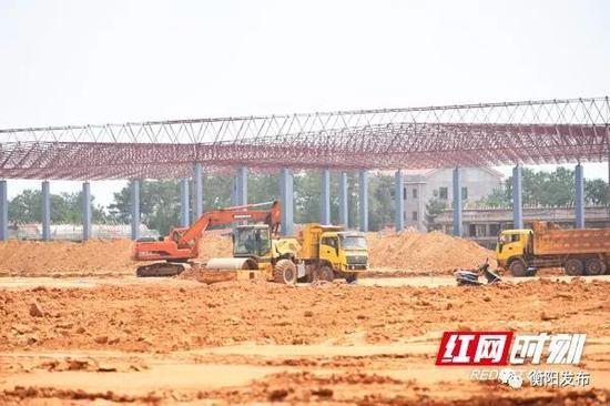 ▲大浦通用机场项目施工现场。