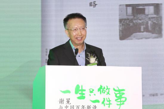北大中文系系主任陈晓明