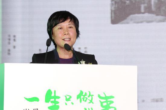 北京大学出版社党委书记兼副社长金娟萍