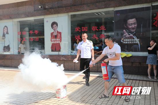 郴州市中心血站开展消防安全专题培训