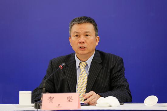 湖南省贸促会党组书记、会长贺坚