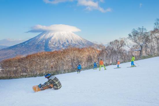 北海道雪场。