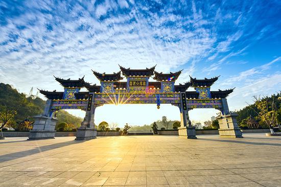桂阳文化园。