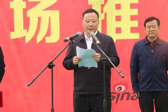 湖南省交通运输厅党组成员、副厅长曾胜出席推进会并致辞。