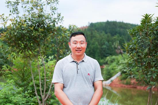 郴州汇园生态农业有限公司董事长张文明。
