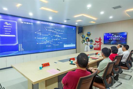 7月1日,苏仙区举行融媒体中心上线启动仪式。