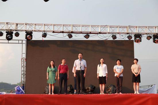 郴州市文化旅游广电体育局党组成员、副局长张志宏宣布开幕。