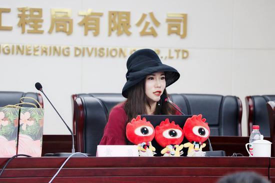 新浪湖南总经理、总编辑黄盈做主题分享