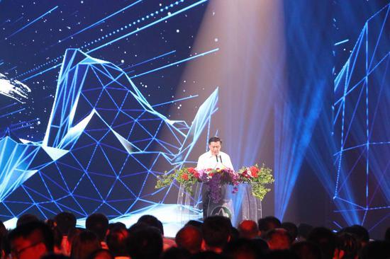 湖南省委常委、省委宣传部部长张宏森颁发致辞