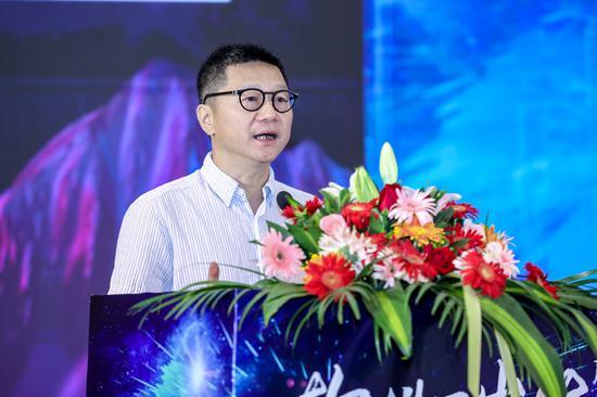 长沙市软件和信息技术服务业促进会会长、拓维信息创始人李新宇。