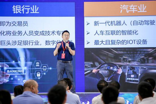 CSDN 创始人、董事长蒋涛。