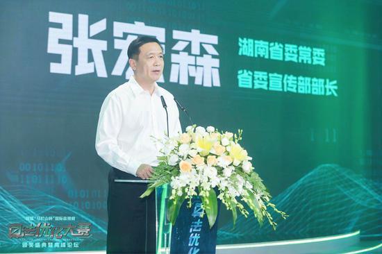 湖南省委常委、省委宣传部部长张宏森