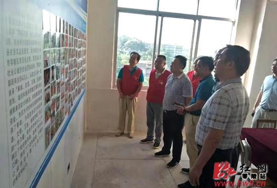 湖南省民政厅调研组调研指导零陵区五化民政工作