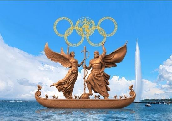 《奥林匹克健康颂》国际版 作者:黄剑