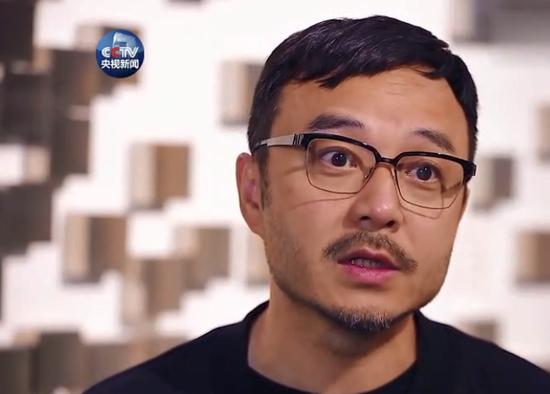 汪涵接受cctv采访