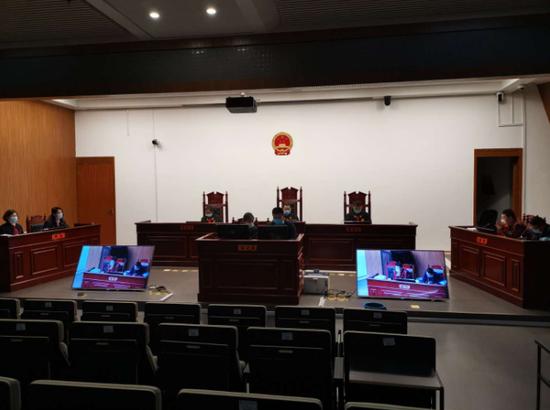 百度起诉长沙百度案庭审现场