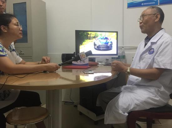 媒体采访闻长铨教授