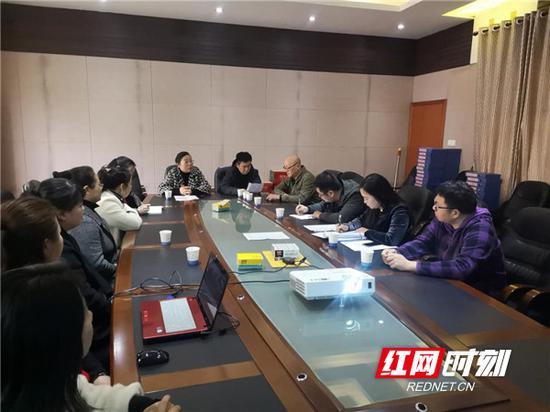 4月4日下午,衡阳市基础教育质量监测中心监测组组织召开了校长、班主任、五年级音体美任课教师以及学生代表的座谈会。