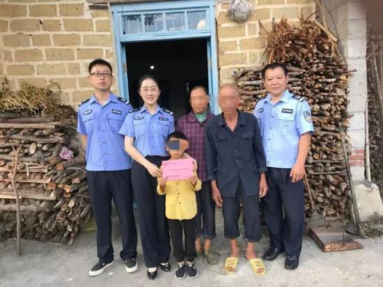 郴州桂东县司法局关爱特困服刑人员未成年子女