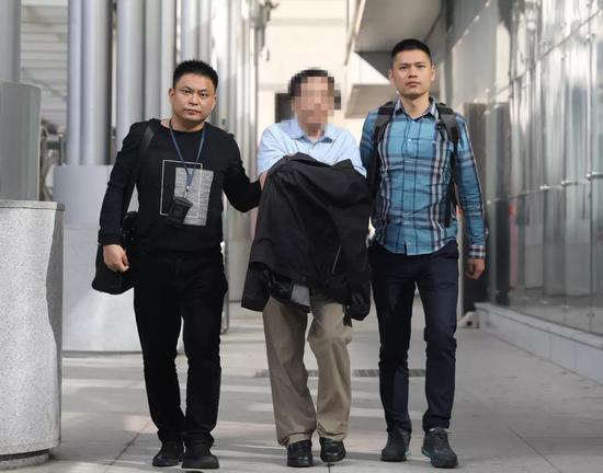 嫌疑人刘某辉被带回郴州